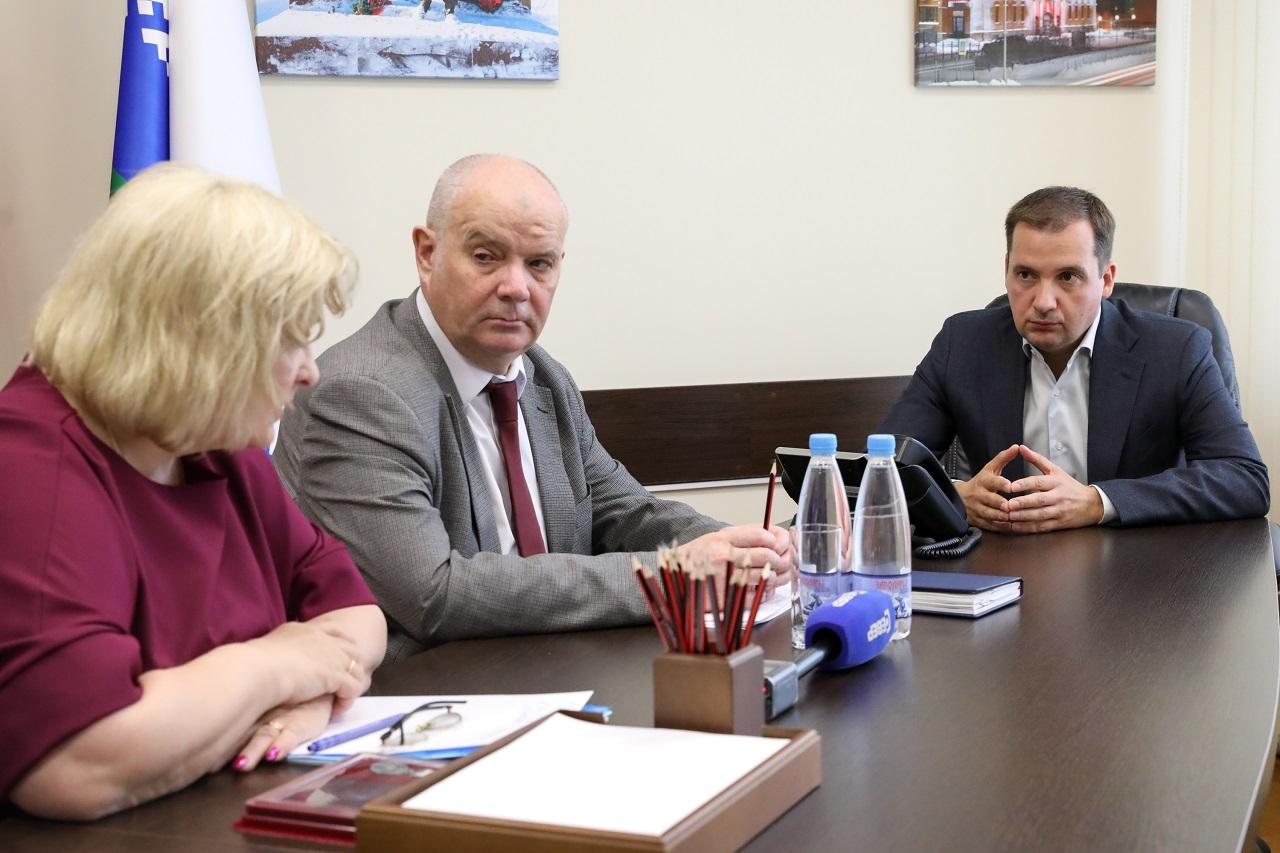 Окружные власти окажут финансовую поддержку ГорПО в строительстве магазина в микрорайоне Авиаторов